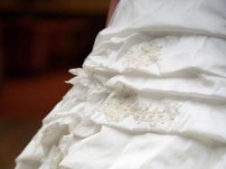 Suknia Agnes - 4715/800- nietypowa kolor ecru