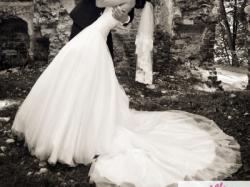 Suknia Allure Bridal 8816 z trenem