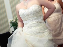 Suknia Annais Bridal Carrera ivory z odpinanym trenem 38/40