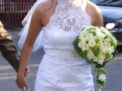 Suknia Annais Bridal 'DONNA' koloru Białego