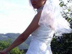 Suknia Annais Bridal model 'Donna' Biała Kolekcja na 2008/09