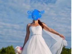 Suknia Aspera dla wysokiej
