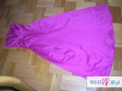 suknia balowa wieczorowa fuksja morgan 36 S