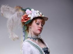 Suknia barokowa. nietypowa suknia ślubna.