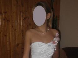 Suknia biała Bełchatów R.36 Kolekcja 2008