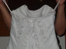 Suknia Biała DIANA Kwiecień 2010 GRATIS 2 welony!!!