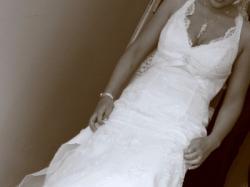 suknia Cosmobella: piekna, biała, koronkowa, w bardzo dobrym stanie