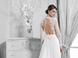 Suknia CRYSTAL 14108 rozm.34/36 2015 r. Berta Bridal +GRATIS welon
