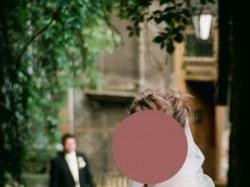 Suknia Cymbeline ERIKA rozm 36/38 z welonem i halka