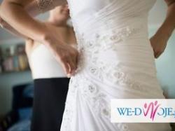 Suknia dla drobnej rozmiar 34 - Adora firmy Igar kolekcja 2014
