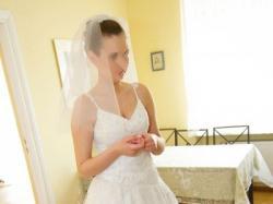 Suknia dla królewny Agnes 1729, rozmiar 38, biała przepiękna!