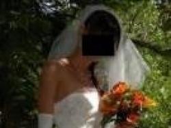 Suknia dla wymagającej - chcącej być niepowtarzalną r.34/36. Karina - Avril '08
