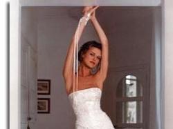 Suknia ecri Cymbeline Paris rozm.38 +welon