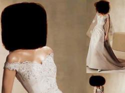 suknia ecru rozm. 36