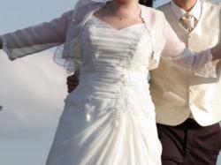 Suknia Ecru, rozmiar 42-44