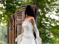 suknia ecry firmy Classa 36/38
