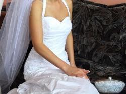 Suknia Elizabeth Konin, rozmiar 34/36 - rybka