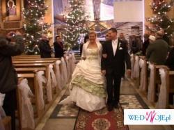 suknia emmi mariage model Dafne z zielenia 1400zl