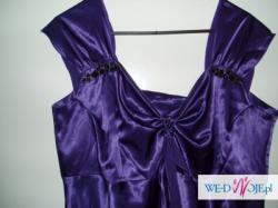 suknia fioletowa
