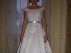 suknia francuskiej firmy hermes, model tessla