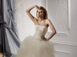 suknia Gala- Olga z odpinanym dołem !!! Cyrkonie