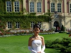 suknia Grenada piękne draperie