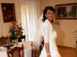 SUKNIA HERMS EMME,ivory, halka 36/38 Warszawa!