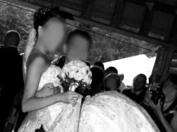 Suknia Hiszpania cała w koronce i cyrkoniach odkryte cale plecy w szpic CUDO