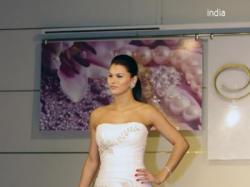 Suknia india 38 śmietankowa Stan idealny,hiszpanka