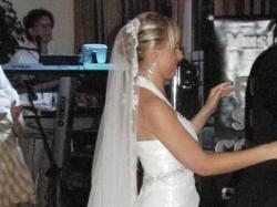 Suknia Julia Rosa model 931 plus pasujący welon hiszpański