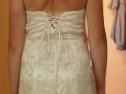 Suknia koronkowa ślub cywilny, kościelny, świadkowej
