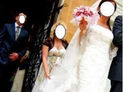 Suknia La Sposa Finlandia, Welon Pronovias + gratisy = 40Îny