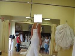 Suknia LA SPOSA, model Malasia, kolor ecru, rozmiar 38/40