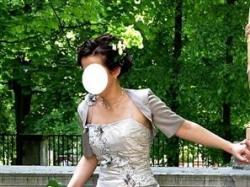 suknia Linea Raffaelli set 53 roz.38 CAPPUCCINO