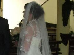 Suknia Lisa Ferrera do 180cm wzrost lub obcas