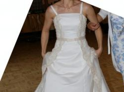 Suknia MISSY rozmiar 38 - ecru
