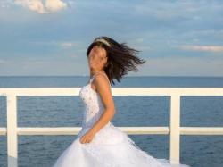 Suknia model ksiezniczka na os. szuplą 165 cm wzrostu