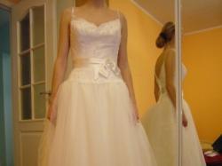 Suknia MON CHERI (USA) + bolerko