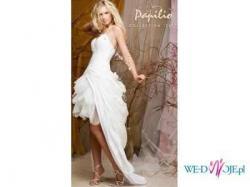 Suknia PapilIO 719 2 w 1 DŁUGA i KRÓTKA