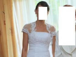 Suknia r. 36 z kryształkami Kolekcja 2011