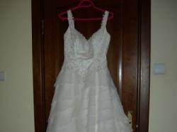 Suknia renomowanej firmy Justin Alexander, zakupiona w salonie Cymbeline- STYL H