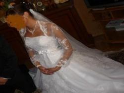 Suknia shirvan biała