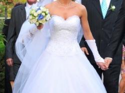 suknia sincerity 3520 księżniczka