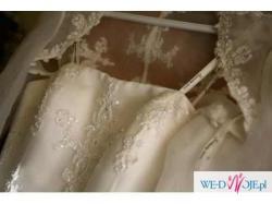 suknia SINCERITY , bolerko, welon, halka