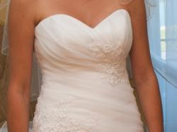 Suknia ślibna biała DOREN MsModa
