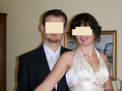 suknia śluba Papilio na wysoką (42/178+obcas)