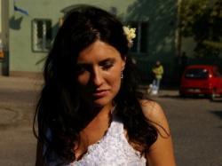Suknia śluba wg wzoru Demetrios 9693 - katalog 2009 - BIAŁA - rozm. 36/38
