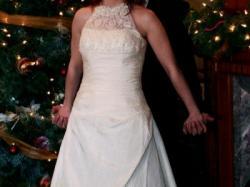 suknia śluba włoska stan idealny tanio