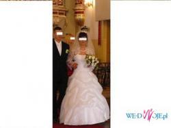 Suknia ślubna 1/3 ceny! W-wa Centrum!