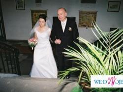 Suknia ślubna 180 zł + welon i szal gratis